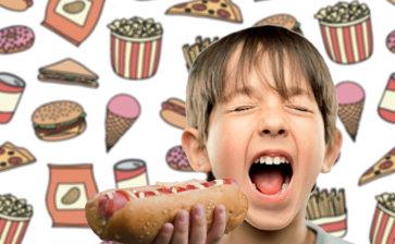 7 dicas para reduzir o fast food das crianças