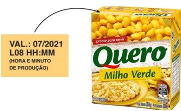 A Heinz Brasil anunciou recall Milho Quero